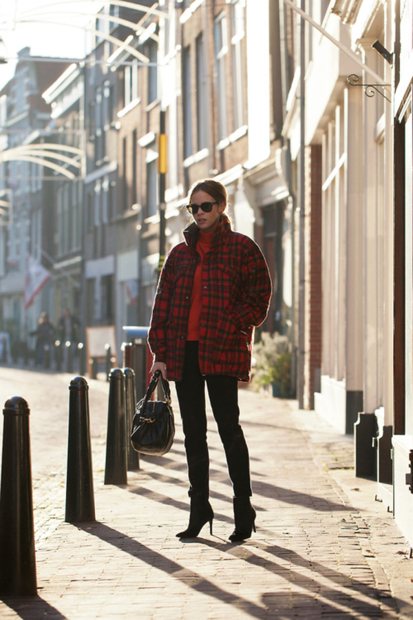 fash n chips coat sweater pants shoes bag sunglasses