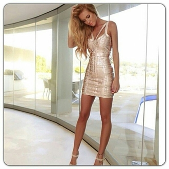 dress bandage rose gold short dress bandage dress sexy dress gold gold ress gold dress strappy strappy dress bodycon bodycon dress party dress sexy party dresses sexy party outfits sexy outfit summer dress summer outfits spring dress spring outfits classy dress elegant dress cocktail dress cute dress girly dress new year's eve date outfit birthday dress clubwear club dress homecoming homecoming dress wedding clothes wedding guest engagement party dress romantic dress dope