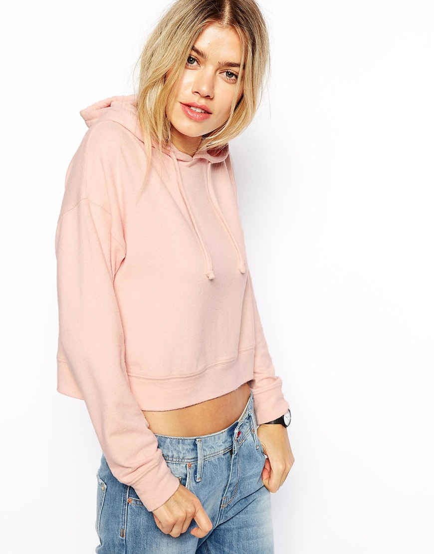 ASOS Hoodie in Super Soft Slouch Fabric at asos.com