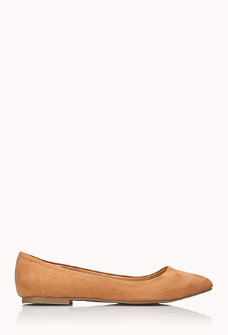 Classic Faux Suede Flats | FOREVER21 - 2040495548