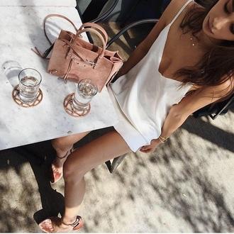 bag blush blush pink handbag