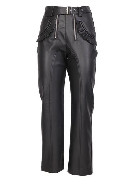 pants white black