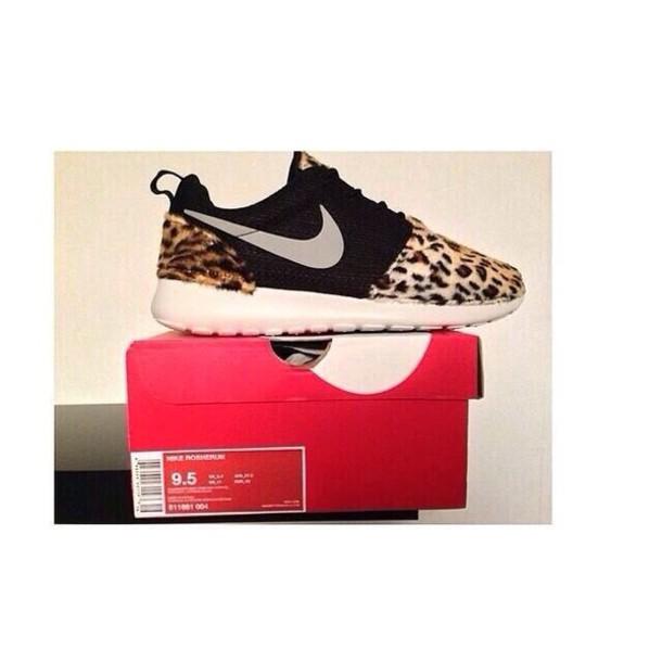 shoes cheetah print roshe run women s nike roshe run leopard snow