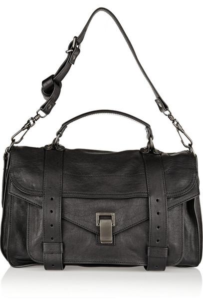 Proenza Schouler satchel leather black bag