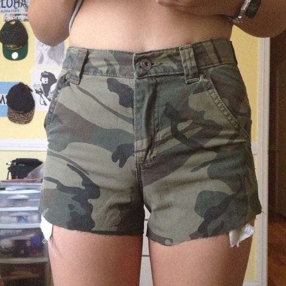 Waisted Camo Shorts 24 from Asia's closet on Poshmark