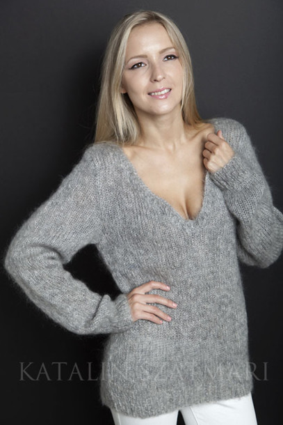 sweater sweater v-neck sweater fitted sleeved jumper