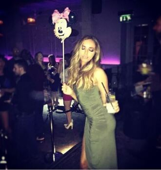 high-low dresses jade thirlwall bodycon dress