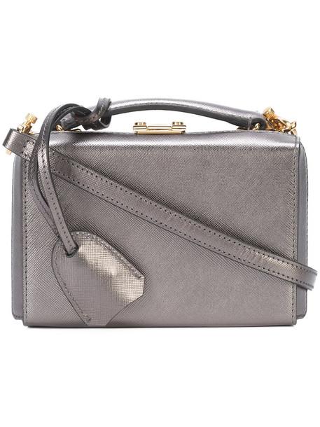Mark Cross mini women bag leather grey