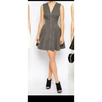 dress gray mini
