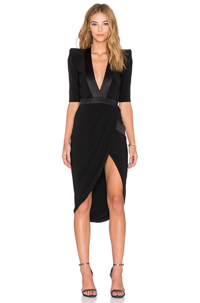 Zhivago dress black