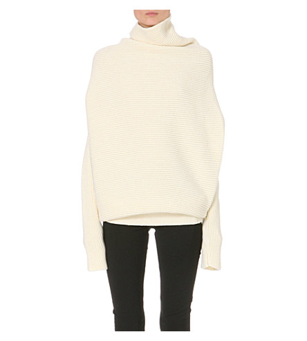 Galactic turtleneck wool jumper