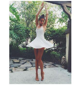 dress taylor hill summer summer outfits summer dress instagram white dress