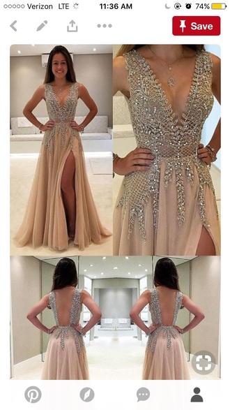 dress nude dress sparkle sparkle dress prom short sequin long prom dress