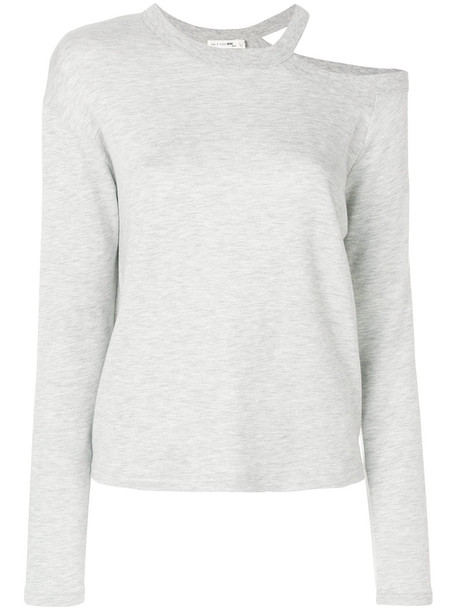 Rag & Bone sweater women spandex cotton grey
