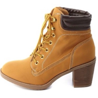 shoes beige heels boots timbalands beige shoes tims heels tims