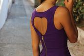 dress,heart,purple,back,backheart,violet,open back,backless