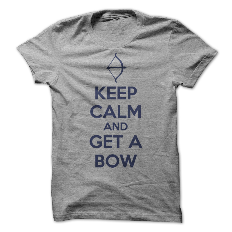 Keep Calm And Get A Bow T-Shirt & Hoodie