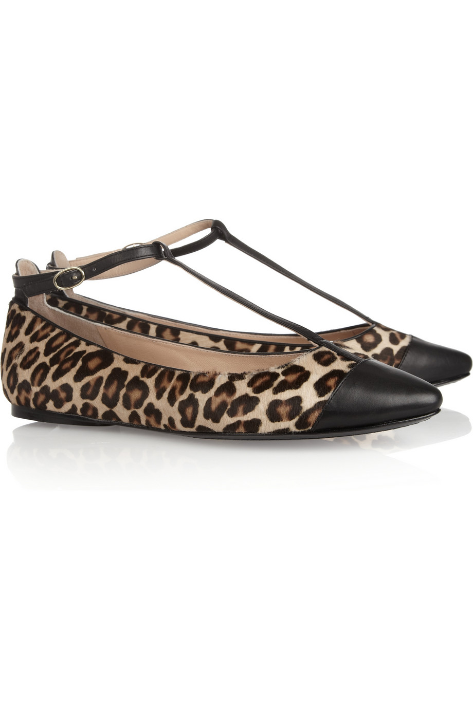 Belle Sigerson Morrison Leopard-print calf hair ballet flats - 48% Off Now at THE OUTNET