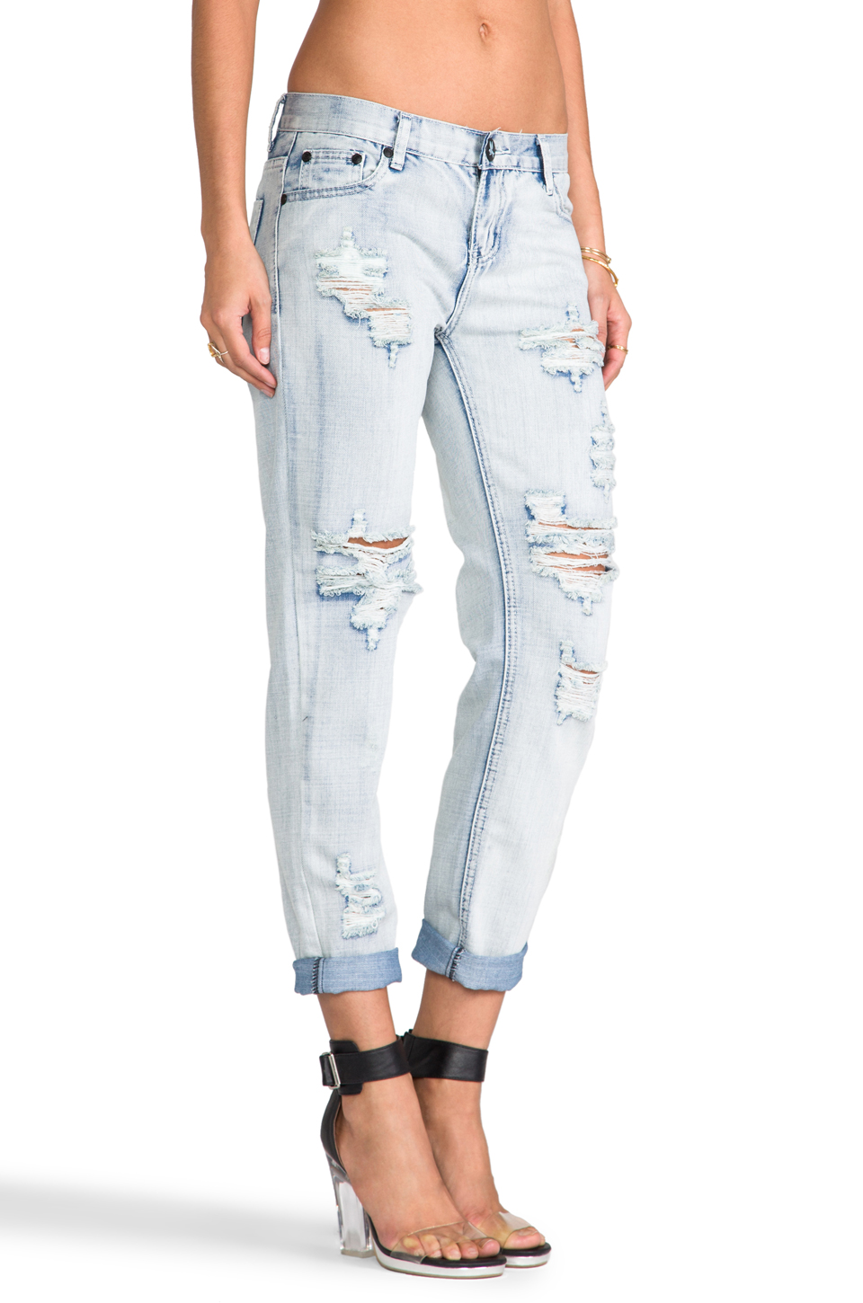 One Teaspoon Awesome Baggies Jeans in Fiasco | REVOLVE