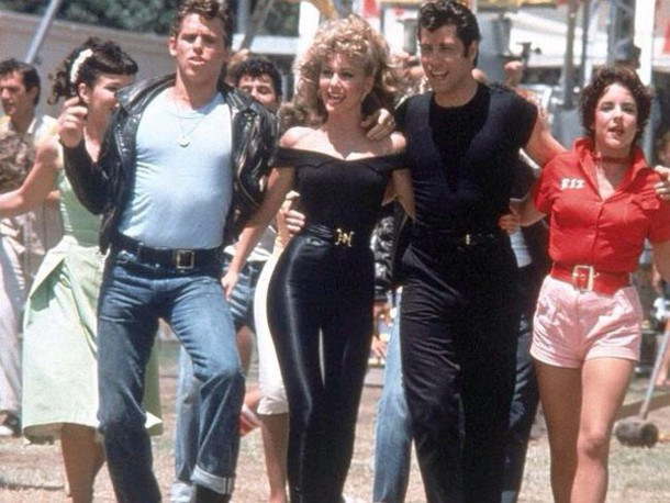 top Grease olivia black top movie character movies