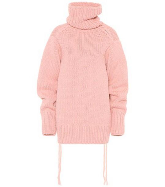 Joseph sweater wool sweater oversized wool pink