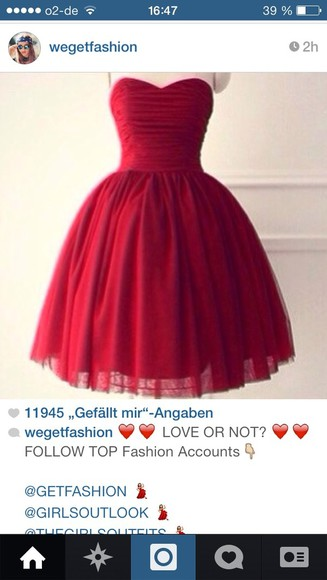 dress prom dress prom red cute cute dress