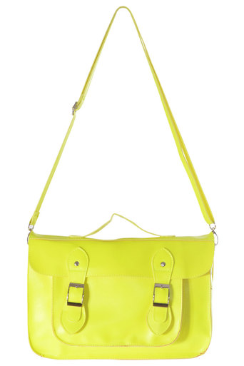 Efia Neon Satchel - Pop Couture