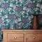 Hello yarrow teal wallpaper | abigail borg