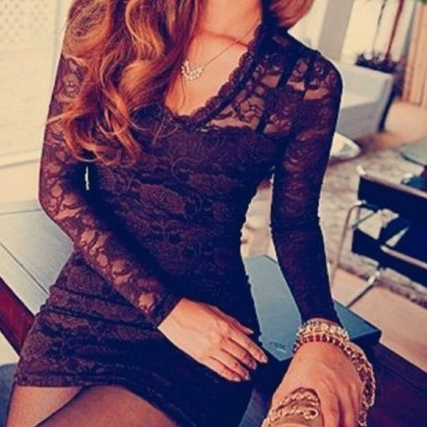 little black dress bodycon dress
