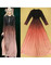 Gradient long dress