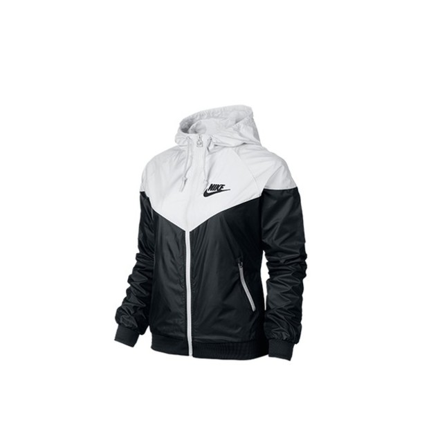 76373dca5a jacket nike windbreaker black and white wheretoget. nike windrunner nike  black white jackets and coats clothing women uk.