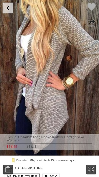 cardigan grey nude hoodie fall outfits fashion sweater cardigan grey cardigan sweater nude cardigan