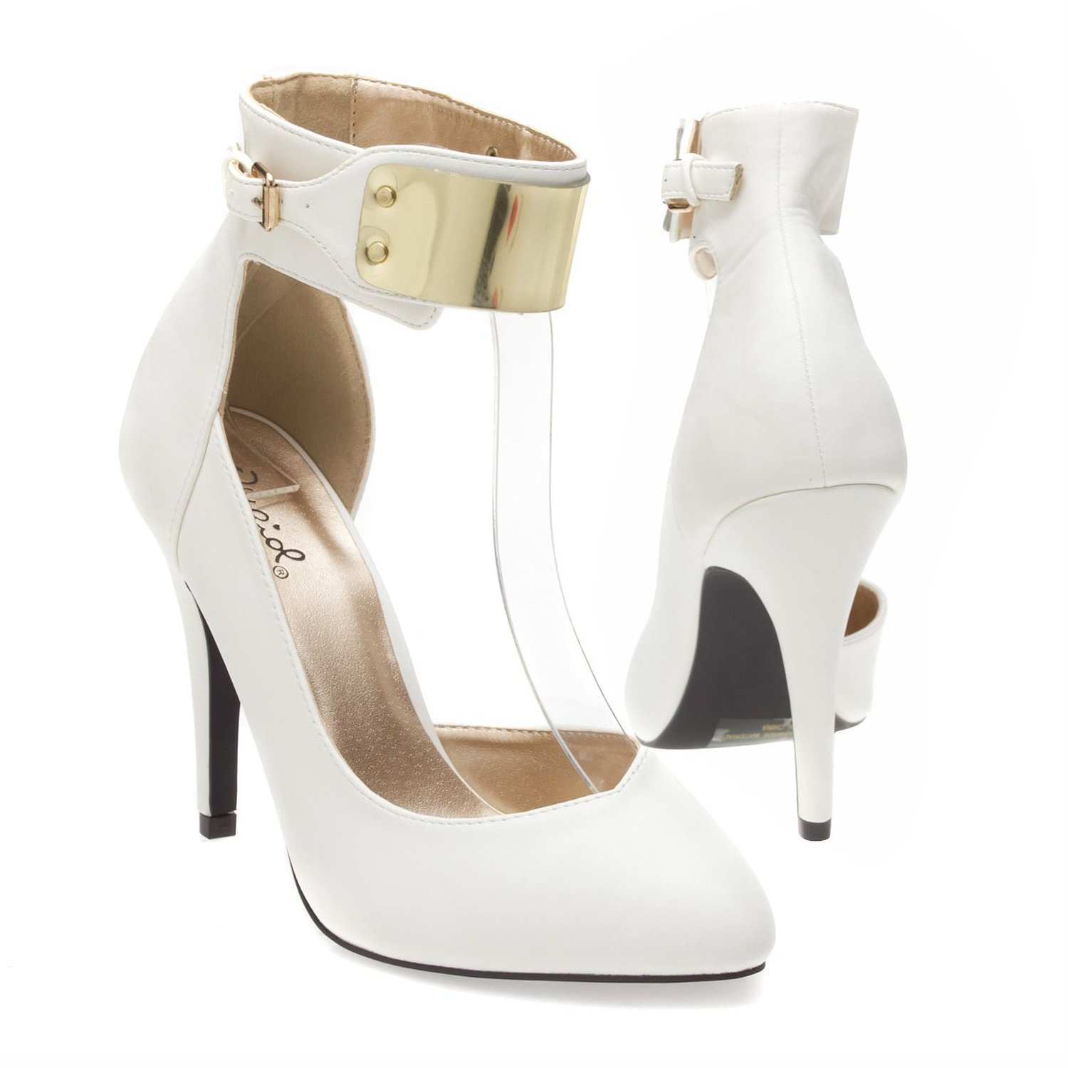 White Heel Shoes For Women