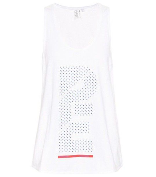 tank top top spring cotton white