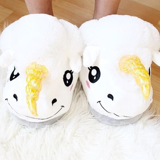shoes unicorn white shoes pajamas cute princess girly girl girly wishlist