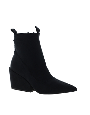 Cheap Monday | Cheap Monday Cube Black Heeled Ankle Boots at ASOS