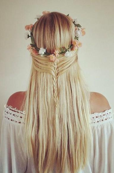 hair accessories hairstyles tutorial blonde hipster wedding