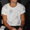 Harry styles wears ashley williams hand print at fashion east... - a fabulous fashion blog