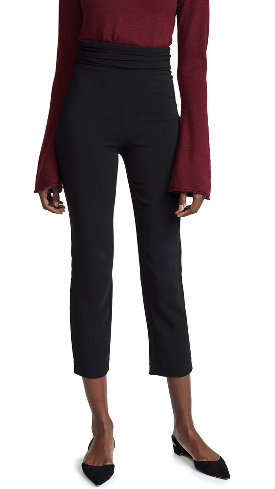 Cushnie Et Ochs High Waisted Fitted Pants in black