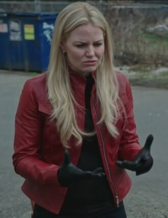 jacket red leather emma swan jennifer morrison once upon a time show