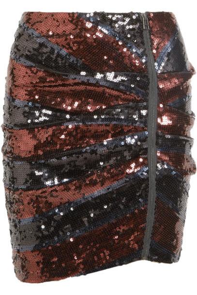 Veronica Beard skirt mini skirt mini black