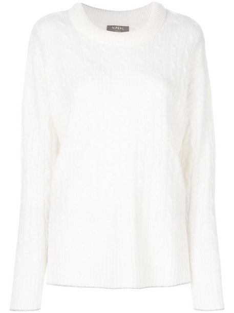 N.Peal jumper women white sweater