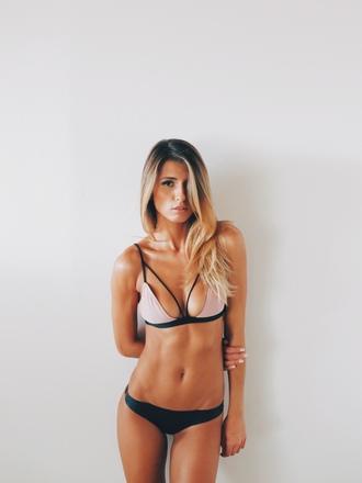 swimwear bikini bikini bottoms bikini top sexy beautiful beauty fitness body blonde hair blonde girl gorgeous