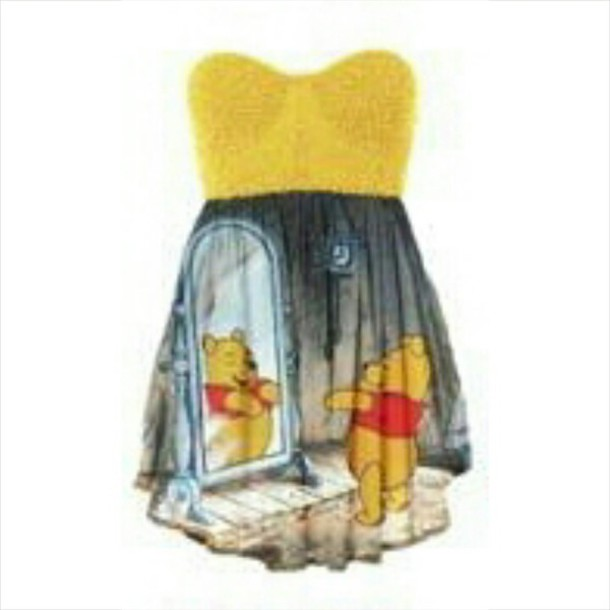 dress winnie-the-pooh lovely