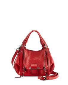 Jonnie mini crossbody bag, red