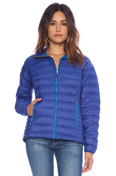 Jacket: blue jacket light down jacket light down down jacket