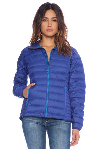 Light Blue Down Jacket Jacket To