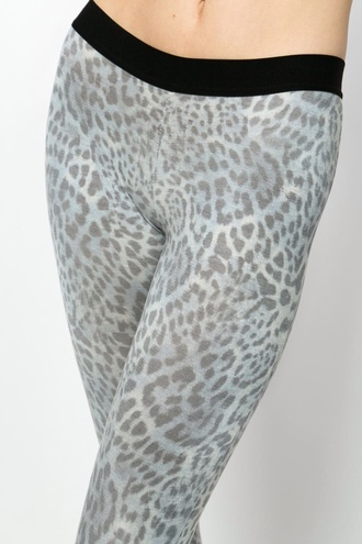 leggings leopard print jeggings/leggings