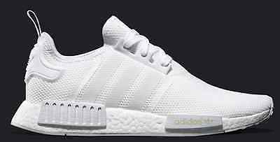 b25cfe74dbc7b Adidas All White NMD R1 Ultra Boost Monochrome White S79166