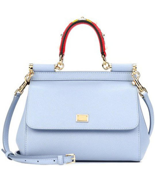 Dolce & Gabbana bag shoulder bag leather blue